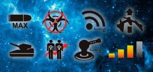 Projekt ikon do gry Space Ship Commander