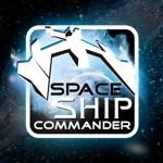 Projekt logo do gry Space Ship Commander