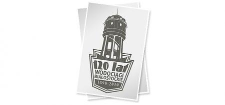 Jubileuszowe logo dla Wodociągów Białostockich