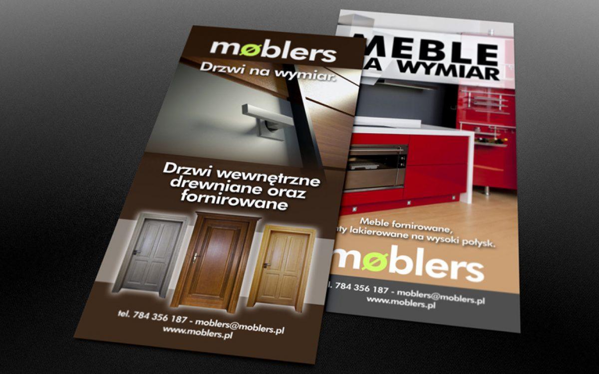 Moblers - Projekt ulotki - Białystok - Warszawa