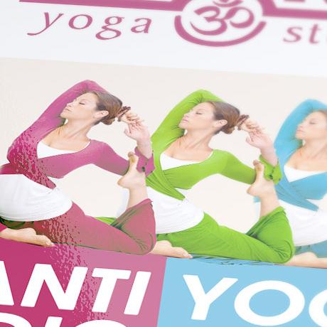 Projekt ulotki – Shanti Yoga Studio