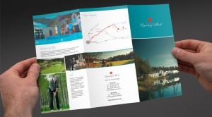 Lipowy Most Golf Park - Projekt folderu - Białystok - Warszawa