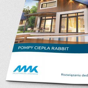 Projekt katalogu AMK Automatyka i sterowanie - Clouds Agencja Reklamowa Białystok