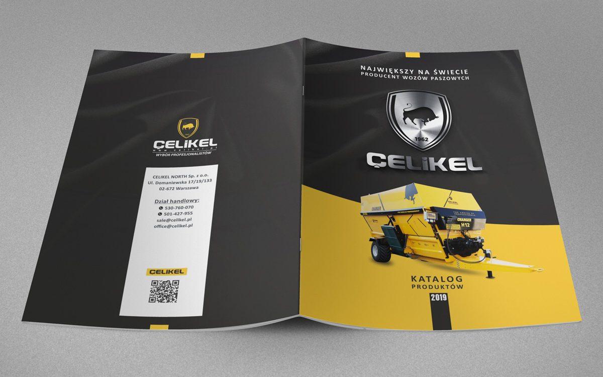 Projekt katalogu reklamowego - Celikel - Projekty katalogów - Clouds Agencja Reklamy Białystok