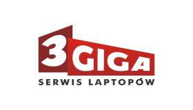 Projekt logo – 3Giga Serwis Laptopów
