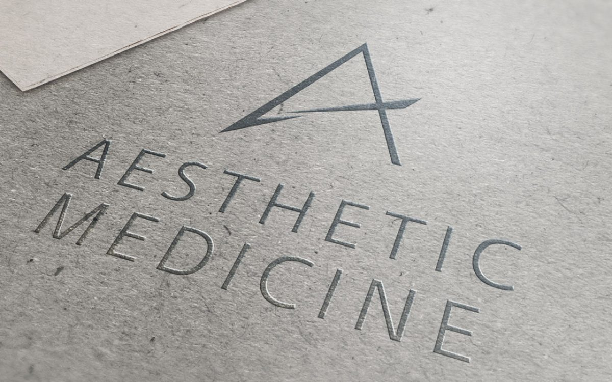 Projekt logo Aesthetic Medicine - Białystok