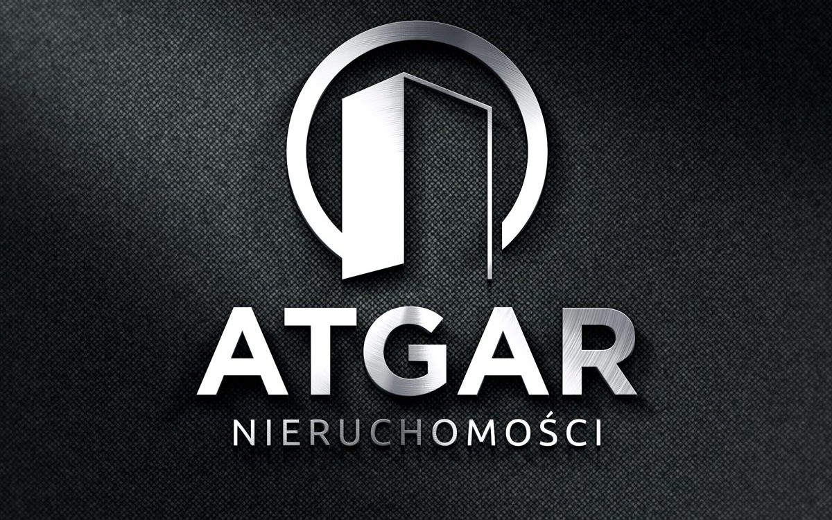 Projekt logo Atgar Nieruchomości Białystok