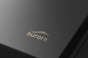 Projekt logo - Aurora - Clouds Agencja Reklamowa Białystok