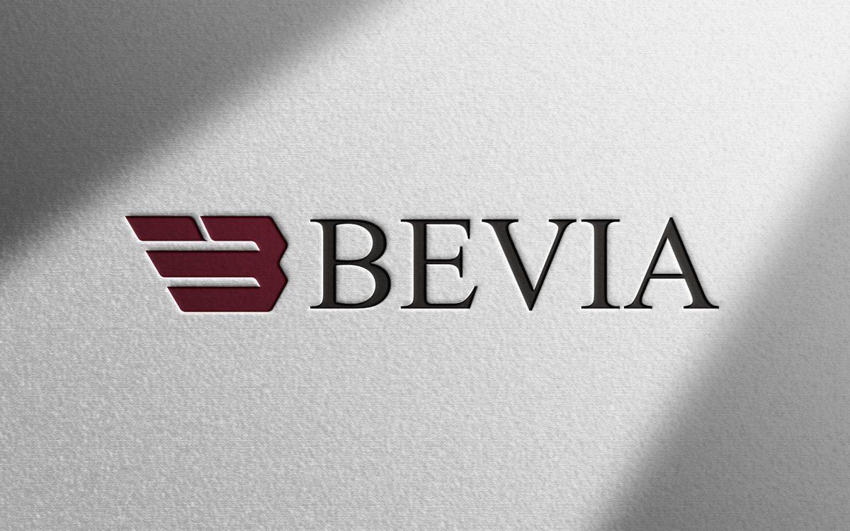 Projekt logo - Bevia - Clouds Agencja Reklamowa Białystok