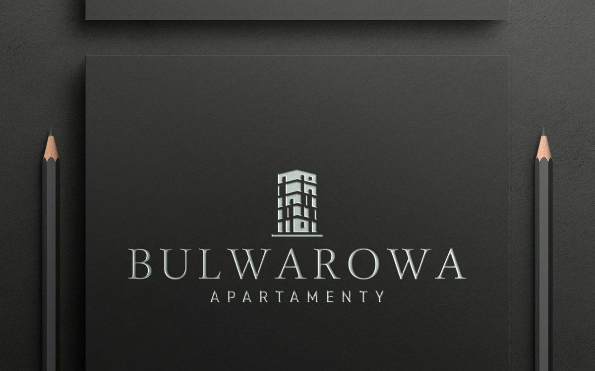 Projekt logo - Bulwarowa Apartamenty - Clouds Agencja Reklamowa Białystok