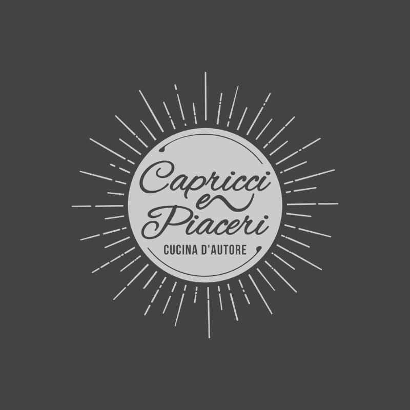 Projekt logo – Capricci e Piaceri