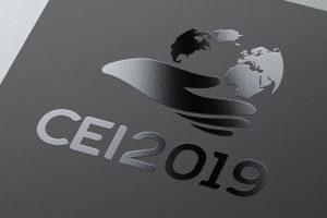 Projekt logo CEI2019 - Agencja reklamowa Białystok
