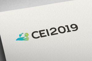 Projekt logo CEI2019 - Studio Graficzne Białystok