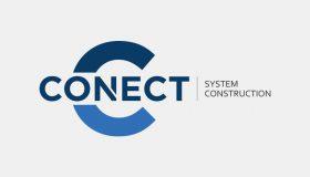 Projekt logo – Conect System Construction
