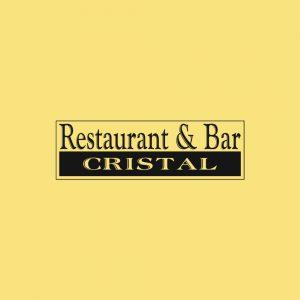 Restaurant & Bar Cristal - Projektowanie logo - Białystok