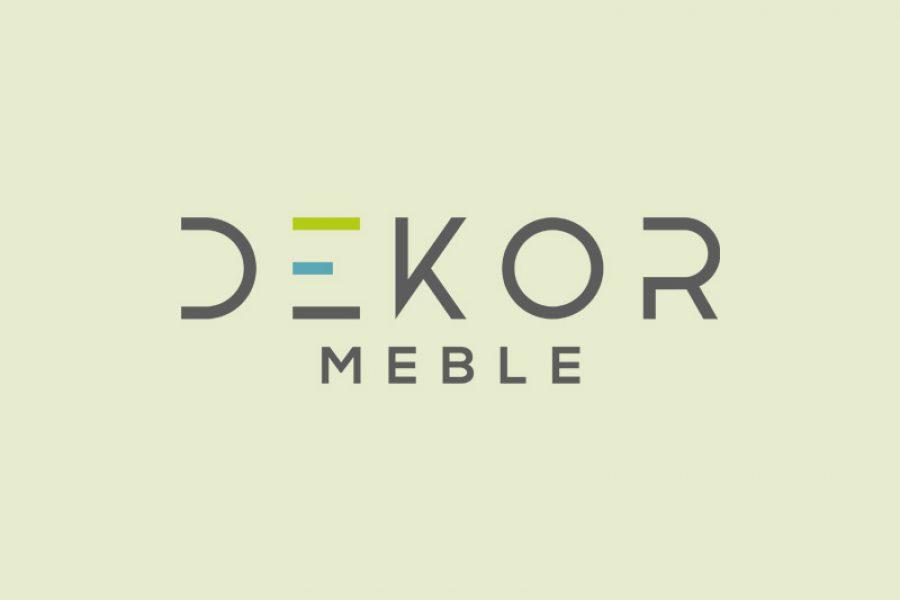 Projekt logo – Dekor Meble