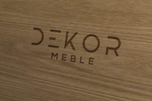 Projekt logo - Dekor Meble - Clouds Agencja Reklamowa Białystok