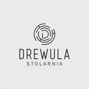 Projekt logo Drewula Stolarnia - Clouds Agencja Reklamowa Białystok