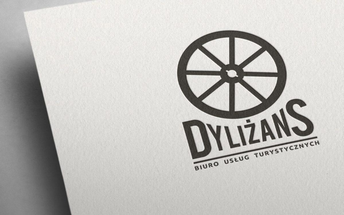 Projekt logo - Dyliżans - Białystok