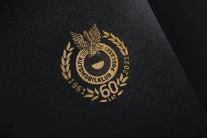 Projekt logo jubileuszowego - Automobilklub Podlaski - Clouds Agencja Reklamowa Białystok