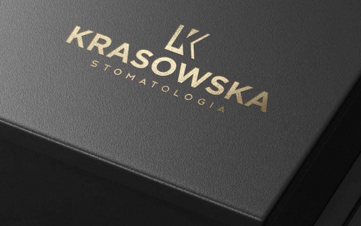 Projekt logo Krasowska Stomatologia - Białystok - Clouds Agencja Reklamowa