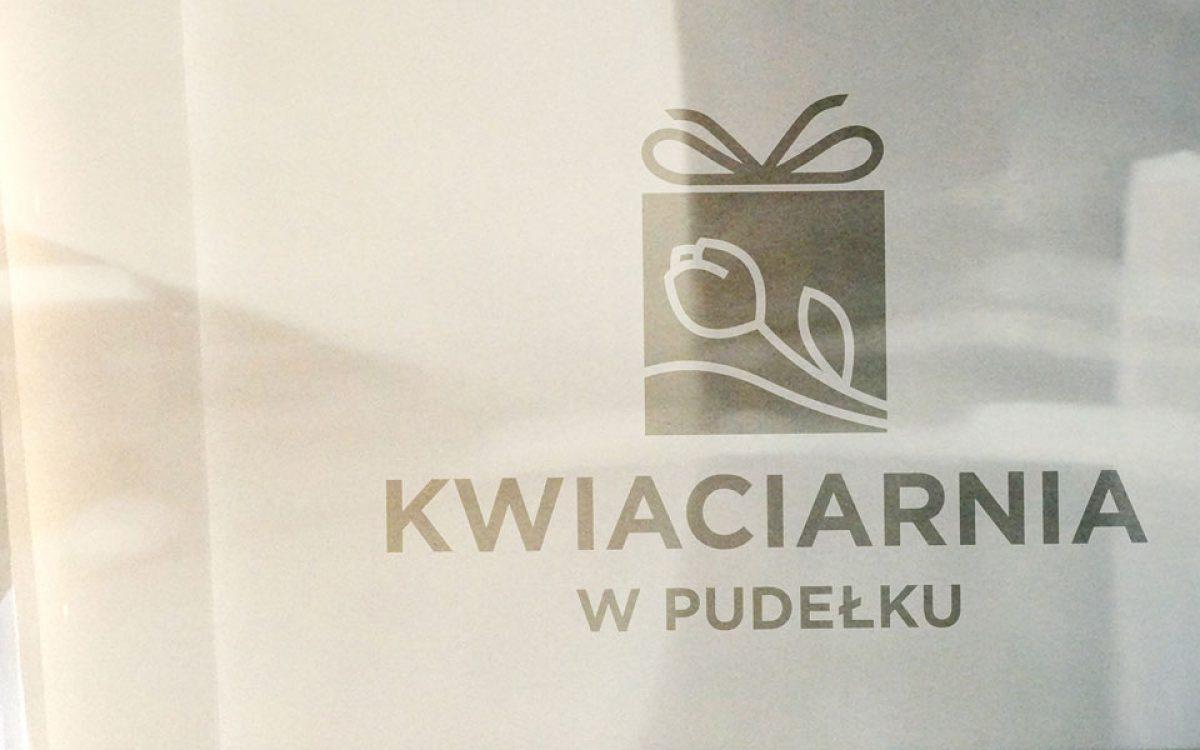 Projekt logo Kwiaciarnia w Pudełku - Białystok