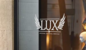 Projekt logo Lux by Michał Gabriel Bekisz