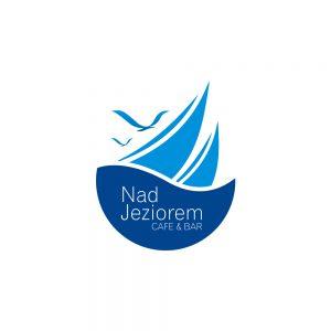 Nad Jeziorem Cafe&Bar - Projekt logo - Białystok