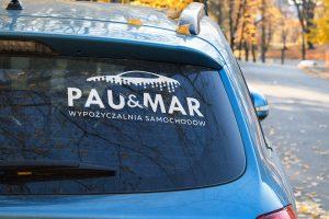 Projekt logo - Pau&Mar - Clouds Agencja Reklamowa Białystok