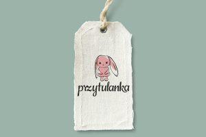 Projekt logo - Przytulanka - Clouds Agencja Reklamowa Białystok