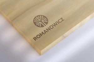 Projekt logo - Romanowicz - Clouds Agencja Reklamowa Białystok