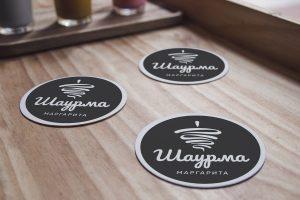 Projekt logo Szawarma Margarita - Clouds Agencja Reklamowa Białystok
