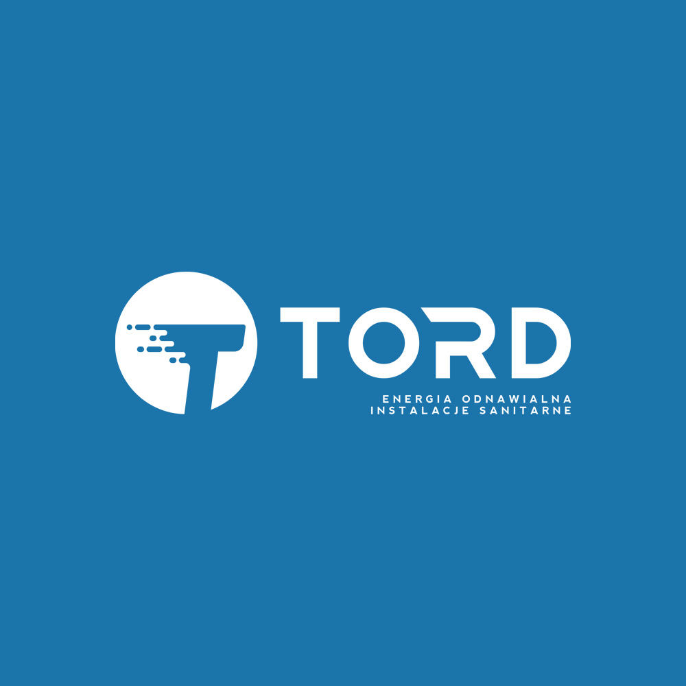 Projekt logo – TORD – Energia odnawialna – Instalacje samitarne