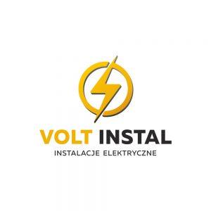 Projekt logo Volt Instal - Instalacje elektryczne - Białystok