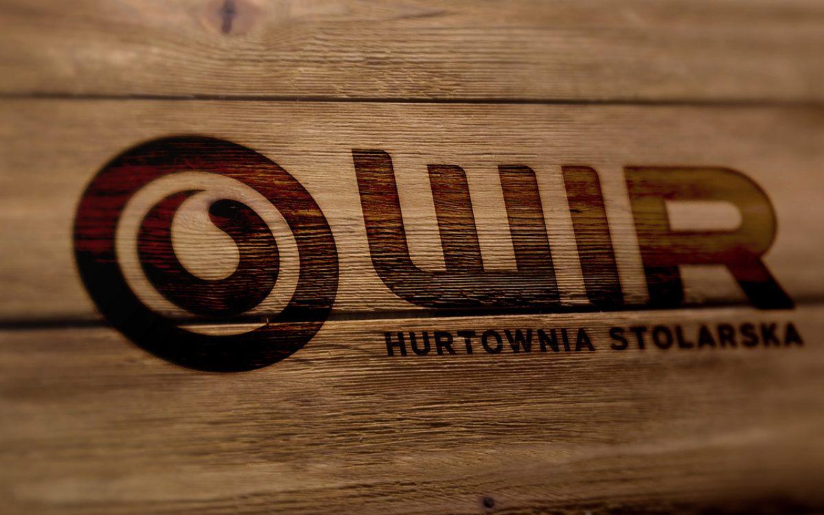 Projekt logo - WIR Hurtownia Stolarska Białystok