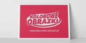 Projekt logo www.kolorowe-obrazki.pl - Edukacyjne kolorowanki dla dzieci