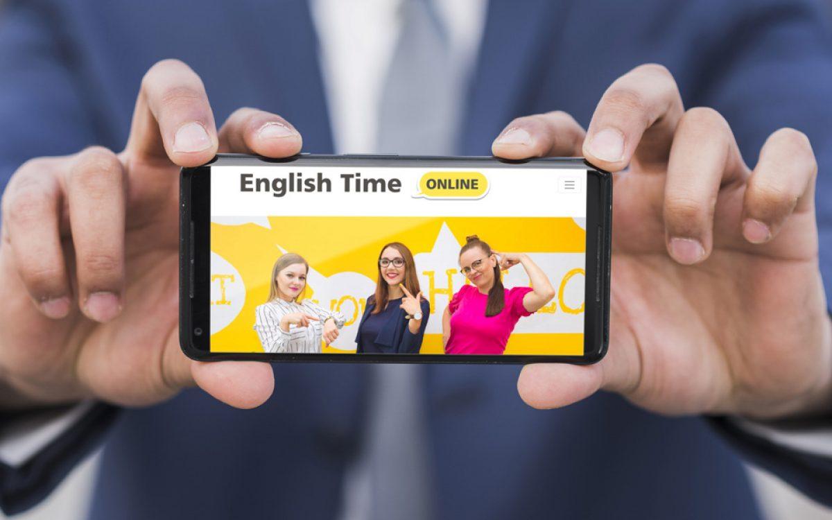 Projekt i wdrożenie platformy e-learningowej Englishtime Online - Projektowanie stron internetowych Clouds.pl