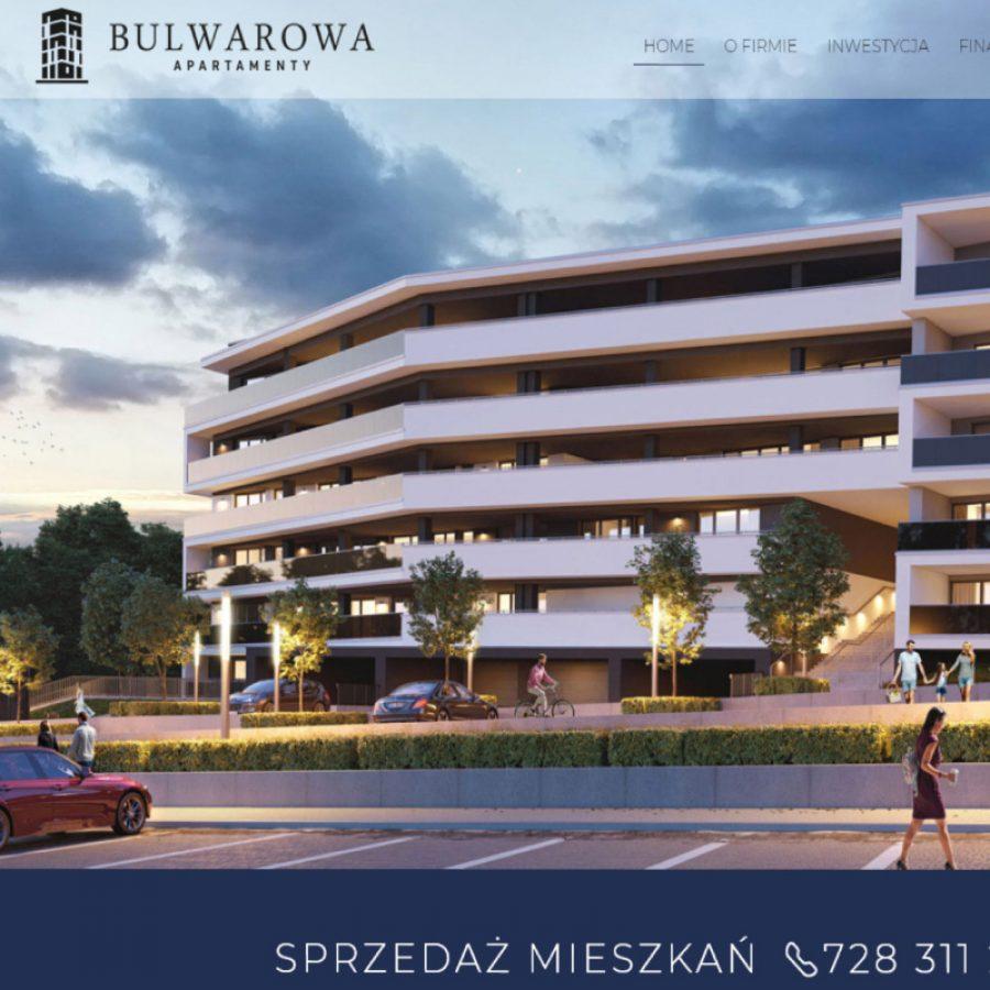 Strona internetowa – www.apartamentybulwarowa.pl