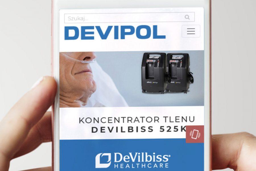 Strona internetowa – www.devipol.pl