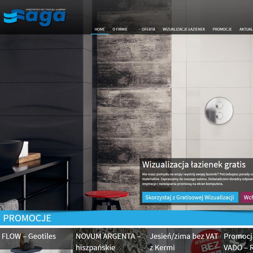 Aga - Projekt stron www - Białystok
