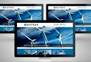 Biatrak - Projekt strony www - Białystok