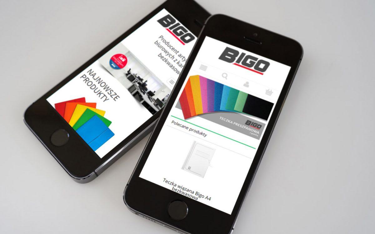 Bigo - Projektowanie stron internetowych - Białystok