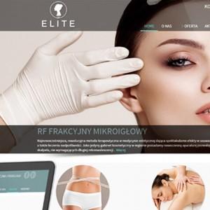 Elite - Projekt strony internetowej - Białystok
