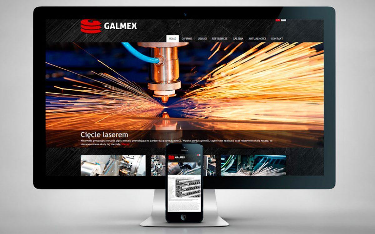 Galmex - Projekt strony internetowej - Białystok