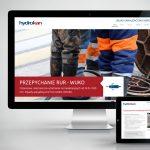 Projekt i wykonanie strony internetowej Hydrokan - Usługi kanalizacyjno-inspekcyjne - Projektowanie stron internetowych Clouds.pl