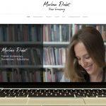 Projekt Strony internetowej Marlena Drobot Trener biznesowy - Clouds Agencja Reklamowa Białystok