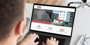 Projekt i wykonanie strony internetowej Master Budownictwo - Projektowanie stron internetowych Clouds.pl