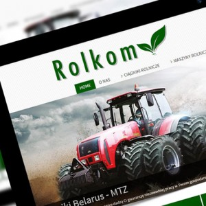 Rolkom - Projektowanie stron internetowych - Białystok
