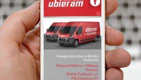 Strona internetowa – www.ubieram.com.pl