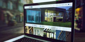 Projekt strony internetowej Vitron - Projektowanie stron internetowych Clouds.pl